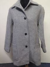Vintage Genuine Burberry Wool jacket coat XS UK 8/10 Euro 36-38 in Grey
