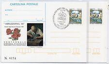 1995 ITALY REPUBBLICA IPZS 2 CARTOLINE POSTALI ABRUZZOPHIL '95 NUOVA+FDC B/7800