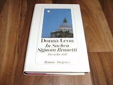 DONNA LEON -- In SACHEN SIGNORA BRUNETTI // Commissario Brunetti  8 / Hardcover