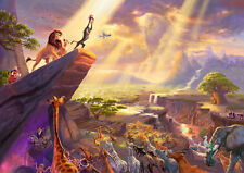 The Lion King Glossy A4 260GSM Poster Print