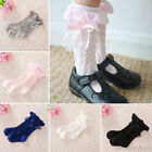 ✿Girl Baby Toddler Kids Knee High Cotton Lace Socks from 9 months to 4 years✿