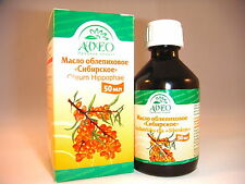 "Natural SIBERIANO Sea Buckthorn (oblepiha) OLIO 50ML. SIBERIANO Sea Buckthorn ""sufficiente"""