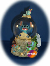Disney Schneekugel - Stitch at the beach - *Neu* Snowglobe-Disneyland Paris Lilo