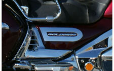 Chrome Side Cover Accents By Add On For Goldwing GL1800 2001-2010 (45-1632)