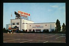 Stockholm Restaurant postcard Somerville, New Jersey NJ Swedish smorgasbord