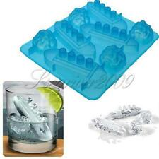 Titanic Shaped Silicone Ice Cube Trays Mold Mould Jelly Maker Bar Party Drinks