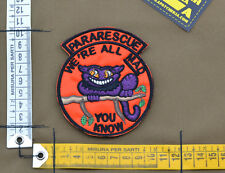 "Ricamata / Embroidered Patch ""Pararescue We're All Mad"" with VELCRO® brand hook"