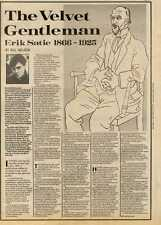 4/9/82PGN19 ARTICLE & PICTURES : ERIC SATIE 1866-1925 BY BILL NELSON