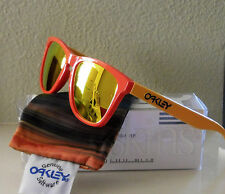 NIB 100% Authentic Oakley Frogskins Aquatique Hotspot w/ Fire Iridium No. 24-359