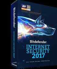 Bitdefender Internet Security 2017 | 2 Anni / 3 PC | ESD | INVIO ENTRO 12 ORE