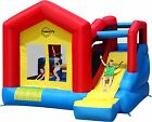 Duplay Climb and Slide 13ft x 12ft Bouncy Castle with Large Slide & Obstacle