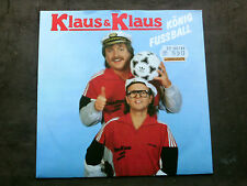 KLAUS & KLAUS 7 inch Single KÖNIG FUSSBALL (1988)   m/m