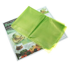 NEW Pack Of  20 Reusable Stay Fresh Green Produce Bags For Fruit & Vegetables