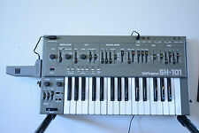 Roland SH-101 VINTAGE monophonic bass synthesizer SH101 w/ bag, Grip and belt