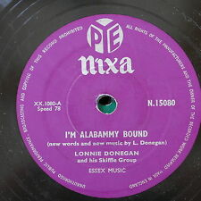 78rpm LONNIE DONEGAN i`m alabammy bound / don`t you rock me daddy-o N.15080