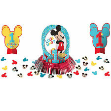 Baby Mickey Mouse 1st Birthday Party Table Decoration Kit Centerpiece First 23pc