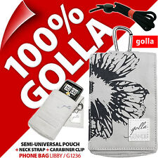 Golla Grey Phone Case Pouch Bag for iPhone 4S 5C 5S Samsung Galaxy S2, S4 Mini