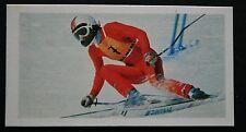 Sci ROSI Mittermaier DOWNHILL SLALOM & Colore l'azione CARD # in buonissima condizione