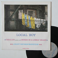 "Vinyle maxi Local Boy ""Thriller medley with owner of a lonely heart"""