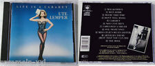 Ute Lemper - Life Is A Cabaret .. CBS-CD 1987