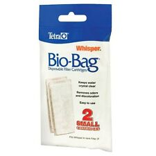 Whisper Bio Bag Cartridge - Small - 2 pk - Assembled - Tetra