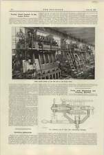 1921 Testing Diesel Engines In Sulzer Works