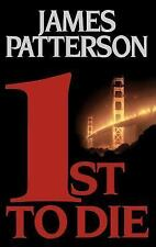 1st to Die No 1 by James Patterson 2001 Hardcover Book Novel Fiction Literature
