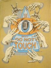 Vintage Please Look but Do Not Touch Pickup Line Funny Hands Full On T Shirt M