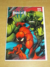 HOUSE OF M #1 MARVEL SPIDERMAN HULK WOLVERINE VARIANT EDITION AUGUST 2005