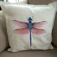 Dragonfly Cushion Large 50x50cm Home Decorative Cotton Linen Cushion Cover