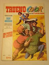 EL CAPITAN TRUENO COLOR AÑO I  Nº 29