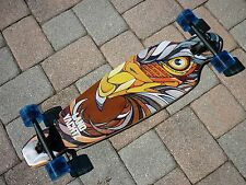 "*NEW* Landyachtz Bamboo Battle Axe  Eagle 35"" Complete Longboard Skateboard"