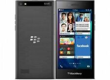 "Without Box Slightly Used & Scratch BlackBerry Leap 16GB 2GB 5"" 8MP 2MP Grey"