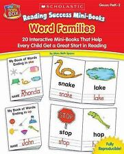 Reading Success Mini-Books: Word Families: 20 Interactive Mini-Books That Help