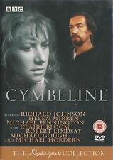 CYMBELINE - Complete BBC Drama. 1983. Richard Johnson, Helen Mirren (DVD 2005)