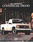 1996 Chevrolet 38-page Commercial Truck Sales Brochure - C3500 Crew Cab Van