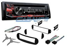 NEW JVC CAR STEREO RADIO DECK WITH AUX INPUT & COMPLETE INSTALL KIT FOR VW BUG