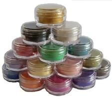 Mica Powder pearl Pigments15 jar set cosmetic soap candle making glitter 5ml/ 2g