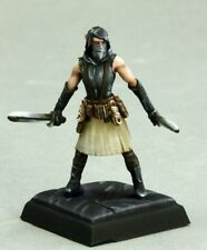 Kirin the Heretic Reaper Miniatures Pathfinder Assassin Rogue Fighter Thief