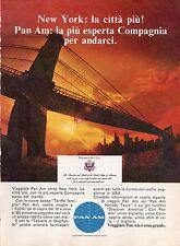 Pubblicità Advertising Werbung 1968 PAN AM - New York