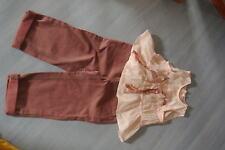 pantalon BOUT'chou et tunique CATIMINI 2 ans