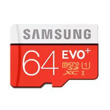 Samsung EVO PLUS 64GB CLASS-10 80MB/S MICRO SDHC SDXC SD MEMORY CARD