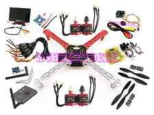 "FPV 7"" screen TX RX 700TVL cam F450 Quadcopter Kit RHD 2212 Motor 30A ESC combo"