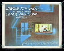REAR WINDOW * CineMasterpieces ORIGINAL MOVIE POSTER 1954 ALFRED HITCHCOCK