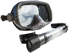 Land and Sea Stealth Executive Black Mask and Snorkel set BRAND NEW