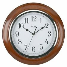 Traditional Mahogany Wood Wall Clock - Wooden Wall Clock