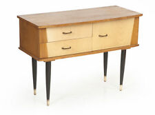 Kommode Side-board Teak Birke Fifties Sixties Midcentury-Modern bureau commode