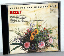 CD BIZET - Music For The Millions Vol.3 - London Festival Orch. u.a.