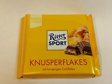 Ritter Sport  - KNUSPERFLAKES  - 3.5oz - 100g - MADE IN GERMANY - BEST PRICE