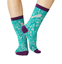 The Rubian women's super-soft bamboo crew socks in forest | By Braintree